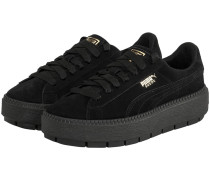 Suede Platform Sneaker