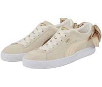 Suede Bow Varsity Sneaker