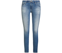 The Prima Jeans Mid Rise Cigarette Ankle