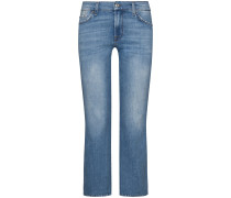 7/8-Jeans Mid Rise Cropped Boot