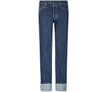 Masc High Straight Jeans
