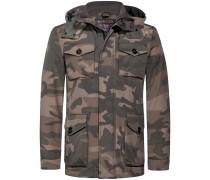 Camouflage Field Jacke