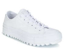 Sneaker Chuck Taylor All Star Lift Ripple Ox Leather