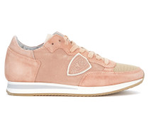 Sneaker Sneaker Tropez in Leder und Veloursleder Rosa