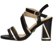 Sandalen A645 Sandale Frau Schwarz