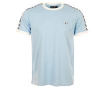 "T-Shirt Taped Ringer T-Shirt """"Glacier"""""