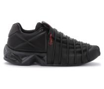 Sneaker Sneaker Yuuto schwarz mit geometrischen Details aus TPU