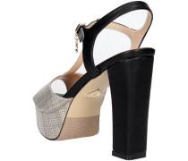 Sandalen 410 Sandal Damen Grau/Schwarz