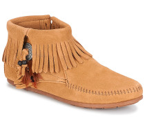 Stiefel CONCHO FEATHER SIDE ZIP BOOT