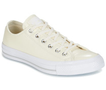 Sneaker CHUCK TAYLOR ALL STAR CRINKLED PATENT LEATHER OX EGRET/EGRET/WHI