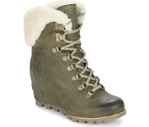 Stiefelletten Conquest Wedge Shearling