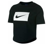 T-Shirt Crop Herren T-Shirt Schwarz AJ3765010