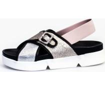 Sandalen 37757 Sandale Frau Silber