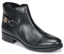 Stiefel TH BUCKLE LEATHER BOOTIE