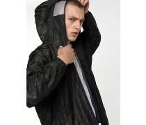 Jacke aus technischem Nylon