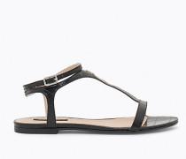 Sandalen aus Krokodilleder