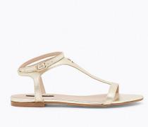 Sandale aus laminiertem Leder