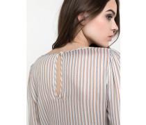 Hemd aus fließendem Stoff mit Muster