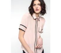 Bluse aus Chinaseiden-Krepp