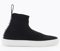 Sneaker aus Strickgewebe