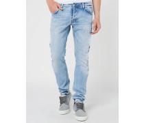 5-Taschen Skinny Jeans aus Denim Comfort