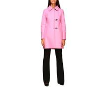 New Romantic Mantel aus Kaschmir-mischgewebe