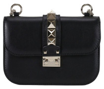 Mini- Tasche Tasche Rockstud Lock Small