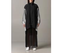 Sportlicher Mantel mit Reißverschluss