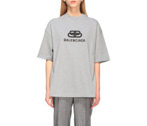 Oversized T-shirt mit Bb-logo
