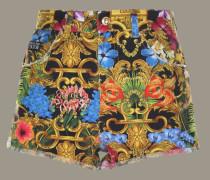 Shorts mit Barock Print