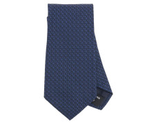 Mikrogemusterte Krawatte aus Seide