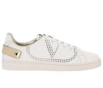 Backnet Sneakers aus Leder