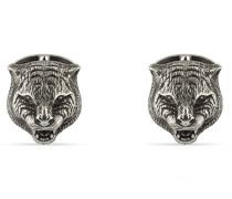 Schmuck Manschettenknöpfe Katze aus Sterlingsilber
