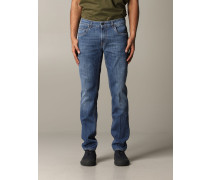 Jeans aus Used Denim
