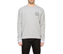 N°21 Sweatshirt mit Gummiertem Logo