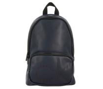 Rucksack aus Kunstleder mit Logo