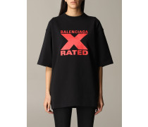 T-shirt mit X Rated Logo