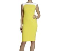 Kleid Sleeveless Cady Bicolor