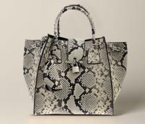 Handtasche aus Python Leder