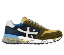 Mick Sneakers aus Wildleder und Nylon mit Logo