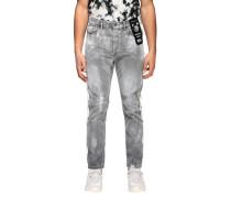 D-eetar Jeans aus Used Stretch Denim