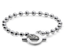 Boule Armband (1 Row) in Sterlingsilber