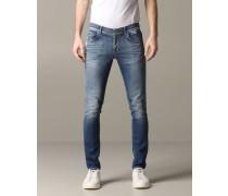 Ritchie Slim Fit Jeans mit Rissen
