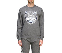 Crewneck Sweatshirt mit Tiger Paris Logo