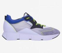 Vic Matié Sneakers aus Wildleder und Transparentem Canvas
