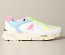 Mase Sneakers aus Wildleder und Ripstop mit Logo