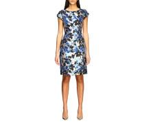 Kleid aus Brokat mit Blumenmuster
