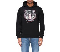 Sweatshirt mit Kapuze und Tiger Paris Logo