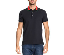 T-shirt Polo aus Piquet Stretch Baumwolle