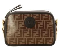 Camera Case Bag aus Glattem und Glasiertem Leder